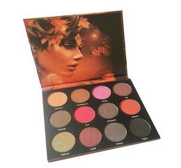 Wholesale Easy N - New Arrival! N@r Eyeshadow Palette 12 colors Long Lasting Matte Eye Shadow NR Cosmetics DHL free