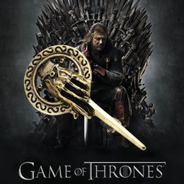 Wholesale Icing Pin - 7cm large brooch New Arrival Hot Selling Song of Ice and Fire Game of Thrones Hand Of The King Pin,Brooch~a394