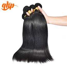 Wholesale Queen Hair Brazilian Straight 5a - Wholesale-Natural Black Color Straight 3pcs Weave Bundles Cheap Brazilian Virgin Hair 5A Human Remy Hair Weft Extension Real Ali Queen