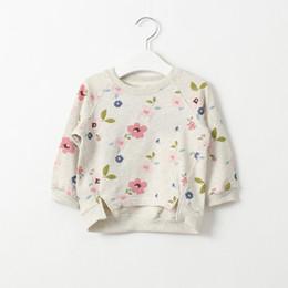 Wholesale Girls Floral Hoody - Wholesale- Cemigo Grils Fashion Hoodies Children Hoody Outerwear Kids Floral Sweatshirts Girl Tops IG333