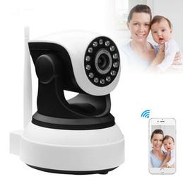 Wholesale Wireless Security Camera Wifi Ptz - Onvif IP Wifi Camera Home Security Draadloze Video Surveillance 720 P Nachtzicht CCTV Wifi Camera PTZ Babyfoon Webcam