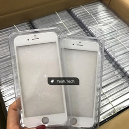 Wholesale Outer Frame - Front Touch Screen Panel Outer Glass Lens with Cold Press Middle Frame with OCA installed for iPhone 6 6s 6 plus 6s plus