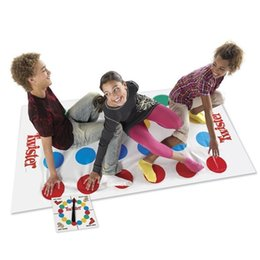 Wholesale Kids Body Stockings - Popular Fun Outdoor Sports Toys Twister Moves Game Play Mat Twisting Body Creative Interactive Educational Toys Gift For Kids