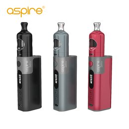 Wholesale li po - 2017 Original Aspire Zelos starter Kit with 2ML Top-fill Nautilus 2 Tank and Zelos 50W TC Box Mod 2500mah built-in Li-Po battery