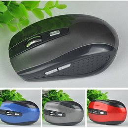 Wholesale Pcs Energy - 2.4GHz USB Optical Wireless Mouse USB Receiver mouse Smart Sleep Energy-Saving Mice for Computer Tablet PC Laptop Desktop With White Box