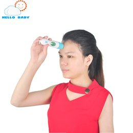 Wholesale Digital Infrared Body Thermometer - Wholesale-New Smart Baby Adult Digital Thermometer Infrared Child Forehead Ear Body Non-contact Electronic Temperature Measurement Device
