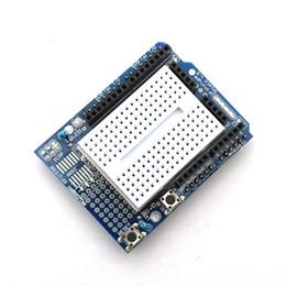 Wholesale Arduino Protoshield - Smart Electronics UNO Proto Shield Prototype Expansion Board With SYB-170 Mini Breadboard Based For Arduino UNO ProtoShield DIY