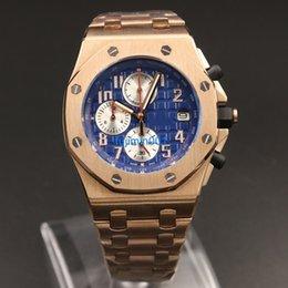 Wholesale 335 Model - Big Sell luxury brand watch men AP 42mm Quartz royal oaks aaa Watch model False watch aaa clock AAA replicas watches 335