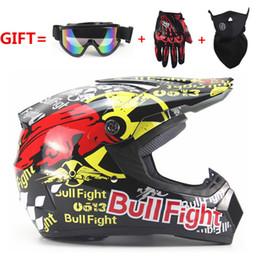 Wholesale Motocross Helmets Full Face - FREE SHIPPING motorcycle Adult motocross Off Road Helmet ATV Dirt bike Downhill MTB DH racing helmet cross Helmet capacetes
