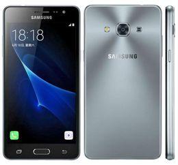 2019 сотовый телефон с двумя sim-картами Восстановленный оригинальный Samsung Galaxy J3 Pro J3110 разблокирован сотовый телефон Quad Core 2GB / 16GB 5.0