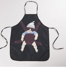 Wholesale funny wedding cartoons - Cartoon Aprons Super daddy Funny Aprons wedding gift Sexy Aprons cooking party Christmas gift Apron 59*73cm