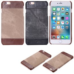Wholesale Iphone Case Cowboys - New Cowboy Skin Leather Case For iPhone se 5 6 7 Plus Back Cover High Quality Cases For iPhone 7 6s Plus