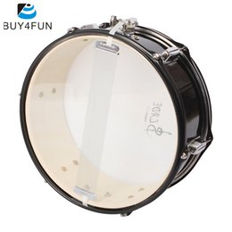 Wholesale Band Drum - Wholesale- High Quality Professional Snare Drum Head 14 Inch with Drumstick Drum Key Strap for Student Band