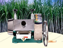 Wholesale Cane Top - Top selling durable manual DHL free shipping sugar cane juicer, sugarcane juicing machine MYY