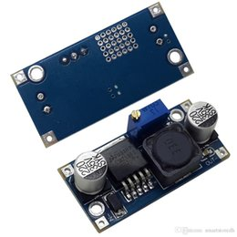 Convertidor reductor 5v online-Alta calidad LM2596S Power DC-DC Buck Converter Step Down Módulo 5V 3A B00054 JUST