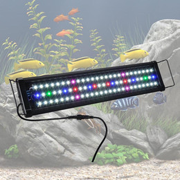 "Wholesale Aquaria Led - Aquarium Full Spectrum Multi - Color LED Light 0.5W 78 LED For 24""- 30"" Fish Tank"