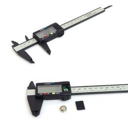 150 мм 6 дюймов ЖК-цифровой электронный углеродного волокна штангенциркуль датчик микрометр от