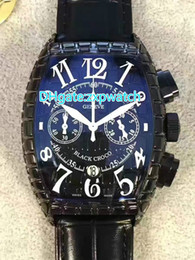 Wholesale Cheap Mens Watches Brands - Super Clone Cheap Brand Black Croco 8880 CH BLK CRO COLOR DREAM quartz Mens Watch Black Dial Snakeskin Pattern Lather Strap Watches 27
