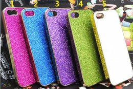 Wholesale Cover Follows - Clear the inventory Gold plated case cover for iPhone5 Glitter silver following for apple iphone5 5S