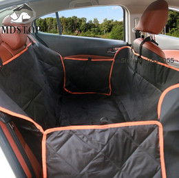 Wholesale Auto Pet Covers - Nonslip Quilted Pet Hammock Waterproof Rear Back Seat Cover for Car Truck SUV Auto Cat Dogs Safety Belt Protector Mat Blanket