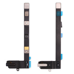 Wholesale Headphone Repair - Brand NEW White & Black For iPad Mini 4 Audio Jack Headphone Flex Cable Ribbon Repair Part Replacement Free Shipping