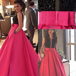 Wholesale Pics Evening Dresses - 2017 New Guest Dresses Beads Prom Dresses Arabic A-Line Jewel Backless Evening Dresses Zipper Real Pic Custom Made With Free Necklace