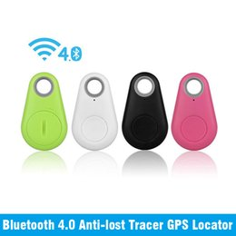 Смарт Bluetooth Tracer GPS локатор тегов сигнализации бумажник ключ собака трекер Finder синий для iPhone IOS Android key ITags пользовательский дизайн от Поставщики карты камер