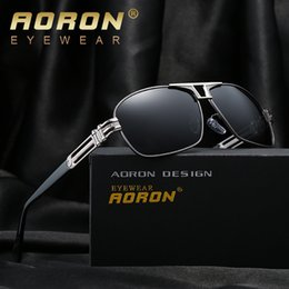 Wholesale Sunglasses Cheap Pilot - Brand Designer Polarized Lens Pilot Fashion Sunglasses for Men and Women Aviator Vintage Sport Sun Glasses UV400 Driver Sun Glasses Cheap