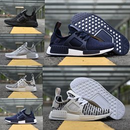 Wholesale Camo For Women - 2018 NMD_XR1 PK Running Shoes Cheap Sneaker NMD XR1 Primeknit OG PK Zebra Bred Blue Shadow Noise Duck Camo for man woman eur36-45