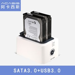 Wholesale Docking Station Clone Hdd - Wholesale- ACASIS BA-12US USB 3.0 SATA3 Hard Drive Docking Station for 2.5 inch or 3.5 inch HDD Enclosure Cloning Duplicator Box