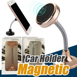 Wholesale Magnetic For Mobile Phone - Universal 360° in Car Windscreen Dashboard Holder Mount Stand For iPhone Samsung Mobile Phone Magnetic Mount