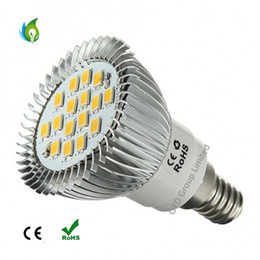 Wholesale Spot 12v Led 6w Mr16 - E14 E27 MR16 B22 GU10 6W 16pcs 5730SMD LED Spotlight with Car Aluminum Cup LED Spot Lights