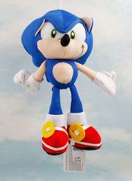"Wholesale Sonic Doll - Wholesale-Retail 1pcs 8""20cm Sonic The Hedgehog Plush Doll Soft Stuffed Plush Toy Free Shipping"