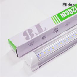 Wholesale Led Light Bulb Factory - T8 LED Tubes Lights Integrated 4ft 18W 1700LM 85-265V PF0.95 96LEDs 2835SMD Bulbs Lamps 22W 2100LM 2ft-3ft-5ft 95LM China Factory Wholesales