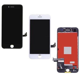 Wholesale Iphone Screen Replacement Colors - 2 Colors Grade A+++ LCD Touch Screen for iPhone 7 7p iPhone Digitizer Full Assembly Screen Replacement Hot Sale