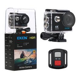 Argentina Cámara original de la acción de Wifi de EKEN H9 H9R 4K 25fps con la cámara 2.4G Wireless Remote Control 2.0 LCD 170 Helmet Cam Suministro