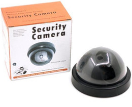 Wholesale Led Low Price - Lowest price! Free Ship 8pcs lot set Wireless Fake Camera Dummy LED Surveillance Security Camera For Intercom Secure Protection