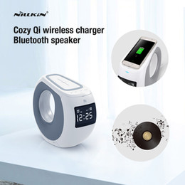 Wholesale Lumia Bluetooth - 2016 Nillkin Bluetooth speaker qi wireless charger Music surround speaker charger for iPhone for samsung s6 s7 s7 edge lumia 950