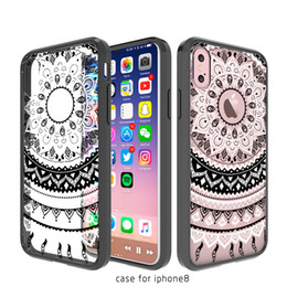 Wholesale Acrylic Painting Landscape - For iphone 7 8 plus 6S plus silicone coloured drawing case landscape Plating TPU cell phone cases Painted acrylic crystal phone shell