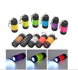 Wholesale Usb Mini Led Torch Keychain - 2017 DHL ship USB Mini-torch Rechargeable LED Flashlight 25LM 0.3w Pocket USB Flashlight Waterproof Keychain flashlight Torches Lamp