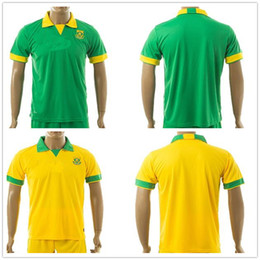 Wholesale National Names - South Africa National Team Soccer Jerseys Customized Personalized Any Name and Number Home Away Custom Football Shirts Kits Uniforms