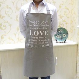 Avental de Cozinha de Lona de alta qualidade Coreano Garçom Avental Com Bolsos Restaurante Casa Cozinhar Ferramenta Loja de Trabalho de Arte Avental de Fornecedores de ferramentas de cozinha de alta qualidade
