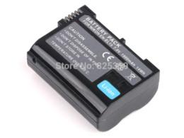 Wholesale Battery En El15 - en-el15 en el15 camera digital battery for nikon d610 d7100 d800 d600 dslr d7000 v1 D750 + Tracking Number
