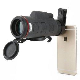 Wholesale Monocular Telescopes - Magaipu Mobilephone cellphone adapter Binocular Monocular Spotting Scopes35X50 monocular mobile phone high definition telescope