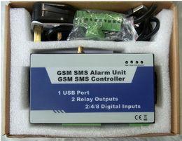 Wholesale Gsm Wireless Alarm Sms - Wholesale- S150 GSM SMS Remote Controller Alarm Wireless Remote Switch, Home Automation Alarm (8I 2O USB Ports)