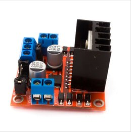 Wholesale Stepper Driver Controller - New Dual H Bridge DC Stepper Motor Drive Controller Board Module L298N MOTOR DRIVER new Free shipping