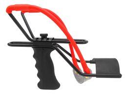 Estilingue de caça inoxidável esportes ao ar livre ajustável com munição