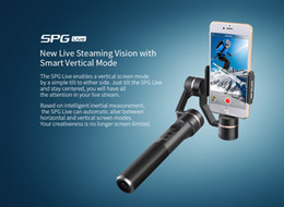 Wholesale Live Doves - Wholesale- FY Feiyu SPG Live 3 Axis 360 degree Limitless Handheld Gimbal Stabilizer For iPhone 7 6 Plus 6 5s 5c HUAWEI etc F19117