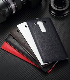 Wholesale Housing For Lg - Premium NFC Wireless Charger Receiver pu Leather Case for LG V10 Replacement Back Battery Door Housing Wireless Charging Cover