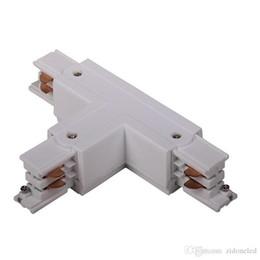 3-фазные коннекторы цепи 4 Разъем для проводной рейки Система глобального трека Средняя подающая лента Столярное освещение от